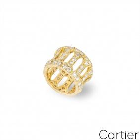 Cartier Yellow Gold Diamond Dress Ring